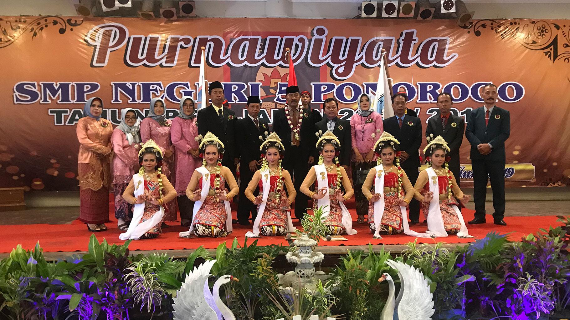 Purnawiyata SMPN 5 Ponorogo tahun 2019